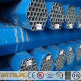 ERW galvanizado Seamless Constructure y Liquid Transportation Steel Pipe (HDG)