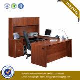 贅沢なデザインL形の執行部の机(NS-NW070)