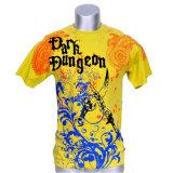 Camiseta de la impresión de la sublimación de la buena calidad del diseño de la manera