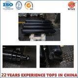 Cilindro hidráulico telescópico gradual de la alta calidad para el acoplado/el carro de vaciado