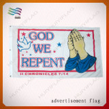 Самый новый напечатанный Rollup полиэфира напольный рекламируя знамена