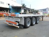 40feet reboque Flatbed 3axles (mercado de Vietnam & de Tailândia)