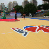 Cn-S04 Protection de l'environnement Spu Crystal Basketball Court Flooring