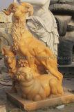 Estatua animal/talla animal de la escultura/de la piedra (BJ-FEIXIANG-0039)