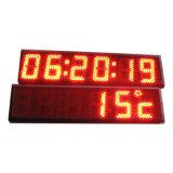 Un rojo más barato 24 horas del LED de visualización del reloj
