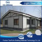 Heller Stahlkonstruktion-modularer Landhaus-Ausgangsentwurfs-vorfabriziertes Haus