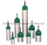 医学の酸素の使用のための5リットルのアルミニウムシリンダー