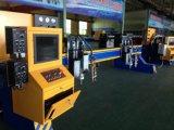 Machine de découpage de commande numérique par ordinateur de plasma de faisceau de portique de Casted pour la tôle