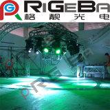 La discoteca di giro di alluminio DJ organizza il fascio