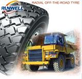 Les pneus radiaux d'OTR/pneus d'engin de terrassement/chargeur de roue fatigue 29.5r25 26.5r25 23.5X25 20.5r25 17.5r25