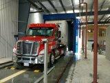 Lavatrice automatica del camion e del bus installata nel Canada