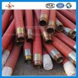 China-Stahldraht wand sich bohrende Gummischlauch-Fertigung