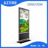 新式の大型の接続単独でスクリーンの赤外線接触立場の屋内デジタル表記のキオスク