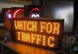 Panneau de signalisation de message de défilement à LED programmable à l'extérieur