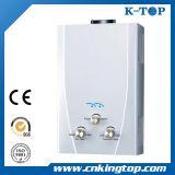 セリウムが付いている白いパネル(6-24L)の即刻のガスの給湯装置