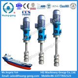 Bomba de petróleo sumergida eléctrica marina de lubricante para el buque de petróleo