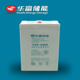 2V 500ah深いCycle Solar Use Lead Acid Battery
