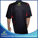 Kundenspezifisches Customized Sublimation Club Team Bowling T-Shirt für Bowling Game