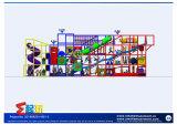 Equipamento interno popular seguro do campo de jogos do Ce para crianças