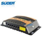 Contrôleur solaire du contrôleur 12V 24V 40A de charge de système d'alimentation de panneau solaire de Suoer (ST-C1240)