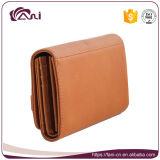 Женщины бумажника RFID, бумажник женщины PU высокого качества Handmade кожаный