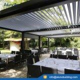 Sunshading y sistema Louvered impermeable de la pérgola de la azotea del patio