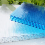 Blad van de Honingraat Multicell van het polycarbonaat het Plastic Holle voor Serre