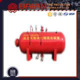 Tank van de Blaas van het Schuim van de Tank van de Brandbestrijding de Vacuüm, de Verticale Tank van de Blaas van het Schuim