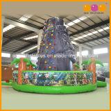 Gebirgsaufstiegs-Wand-aufblasbares Felsen-Kletternspiel für Kinder (AQ1940)