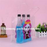 Подгонянные мешки вина PP ясности конструкции пластичные одиночные для одного пакета бутылки (мешок вина)