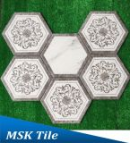Polare Strahl-Porzellan Wall&Floor Hexagon-Fliese