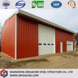 Стальная мастерская здания конструкции с сенью высокого качества