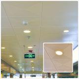 Plafond décoratif en aluminium de couleur blanche enduite perforée de poudre avec le prix usine