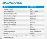 1.0mm à 3.0mm ressort de compression à grande vitesse de commande numérique par ordinateur de 3 axes enroulant le pot tournant de ressort de Machine&
