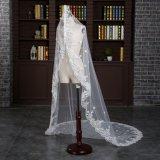 Brandnew длина собора вуаль цвета слоновой кости невесты венчания в 3 метра