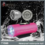 Van de het systeem de AudioKaart SD/TF van het alarm Waterdichte RadioMP3 Speler voor Motorfiets
