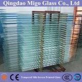 Portello di vetro temperato dell'acquazzone glassato Silkscreen senza piombo (6mm 8mm 10mm)