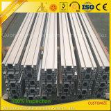 展覧会または生産ラインのための陽極酸化されたアルミニウムVスロット放出のプロフィール