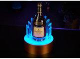 Visualización de acrílico de la botella del licor del LED
