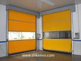 Belüftung-Gewebe-schnelle verantwortliche Rollen-Blendenverschluss-Tür für Nahrungsmittelfabrik