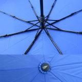 خشبيّة مقبض 3 ثني يدويّة حماية مطر مظلة ([جف-مّو310])