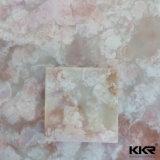Pedra artificial de superfície sólida acrílica pura e pura