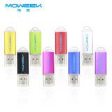 Vara da cor da forma de Pendrive do metal da movimentação do flash do USB da alta qualidade