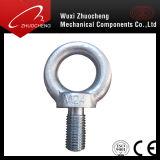 탄소 강철 급료 4.8 8.8 10.9 12.9 아연에 의하여 도금되는 드는 고리 볼트 DIN 580