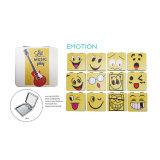 卸し売り感情の記念品の金属のポケットミラーCm1015