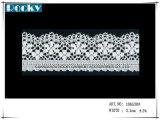 Testo fisso di nylon elastico del merletto per l'indumento delle donne