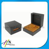 Schwarz Paino Lack Holz Uhr / Schmuck-Geschenk-Display-Verpackungskarton