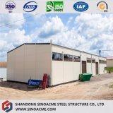 La Cina progetta il magazzino per il cliente chiaro prefabbricato della struttura d'acciaio