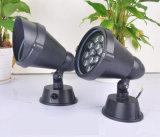 5-18W luz del jardín del paisaje del CREE LED