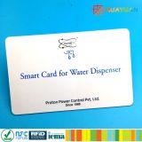 Cartão de impressão de impressão plástica para gerenciamento de fidelidade